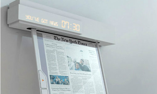 Newspaper of the future