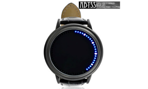 Digital Device to Draw & Measure Blue LED touchscreen watch