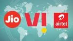 എയർടെൽ, ജിയോ, വിഐ എന്നിവയുടെ 3 ജിബി ഡെയ്ലി ഡാറ്റ നൽകുന്ന പ്രീപെയ്ഡ് പ്ലാനുകൾ