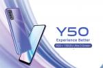 ക്വാഡ് റിയർ ക്യാമറ സവിശേഷതയുമായി വിവോ Y50 ലോഞ്ച് ചെയ്തു