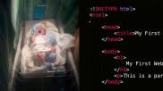 തൊഴിലിനോടുള്ള സ്നേഹം കുഞ്ഞിലേക്കും, കുഞ്ഞിന് HTML എന്ന് പേരിട്ട് വെബ് ഡിസൈനർ