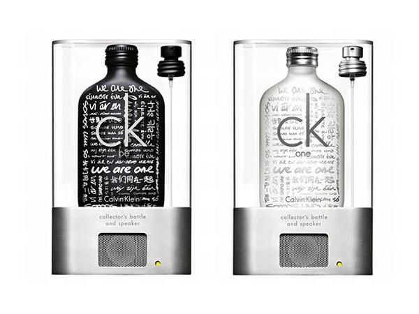CK limited-edition MP3 bottle