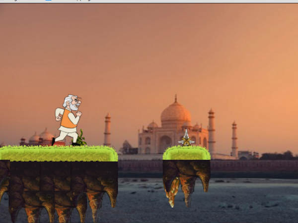 Modi Run Android Game