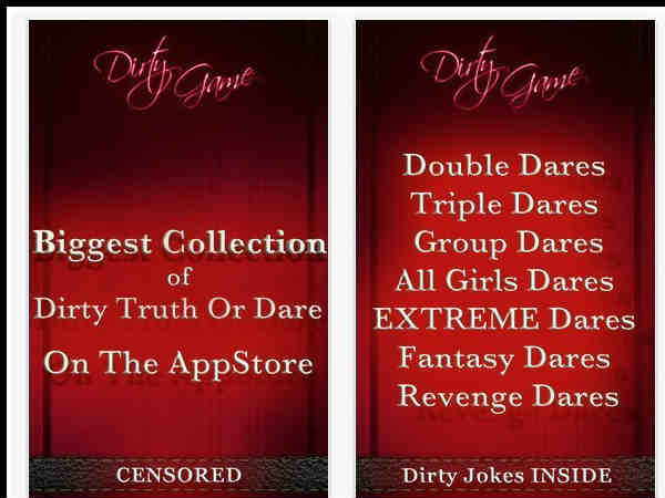 Dirty Games Truth or Dare