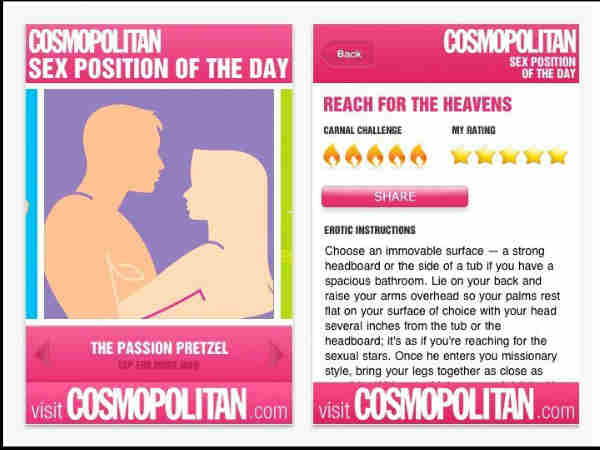 Cosmo Sex Position of the Day