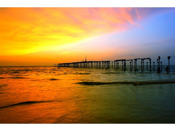 Sunset- Alappuzha Beach