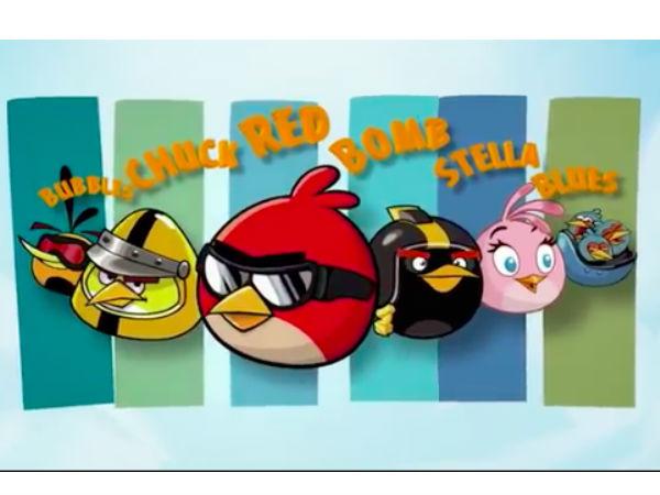 Angry Birds ഇനി ത്രീഡി-യില് കളിക്കാം...!