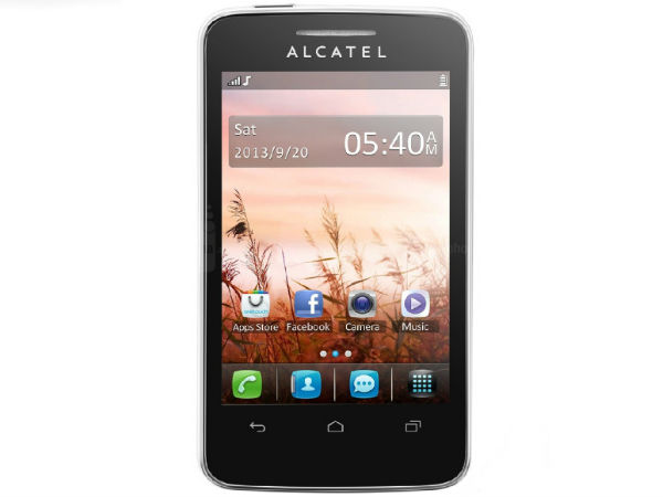 Alcatel OneTouch Tribe