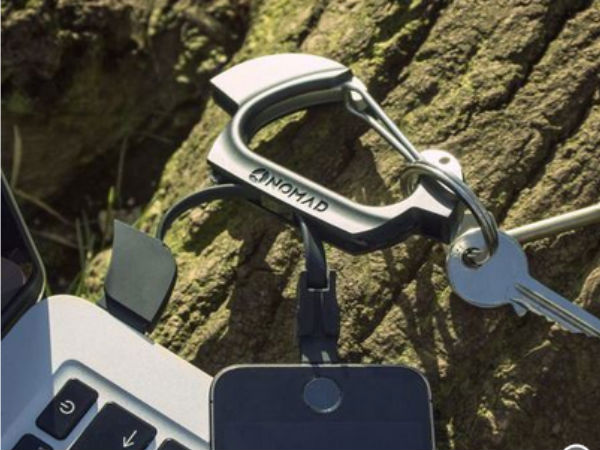 Nomadclip Carabiner cable