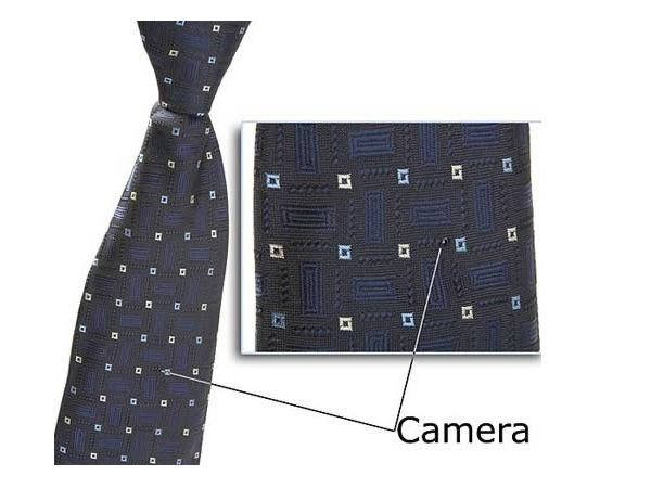 Necktie Hidden Video Camera