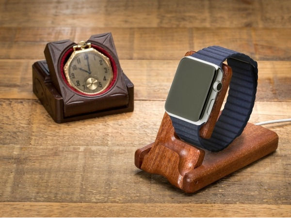 Pad & Quill Luxury Pocket Stand for Apple Watch ($79.99)