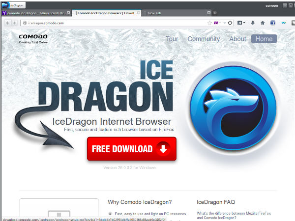 Comodo Dragon/Ice Dragon