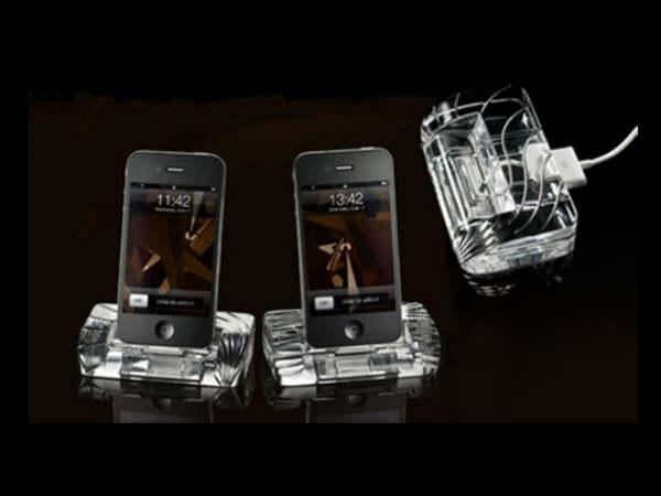 iPhone 4 Crystal Docking Station - $500