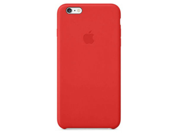 Apple iPhone 6 Plus Leather Case in Red