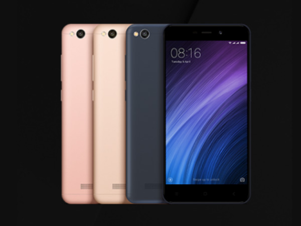Xiaomi Redmi 4a Launched At Rs 5 999 In India Malayalam