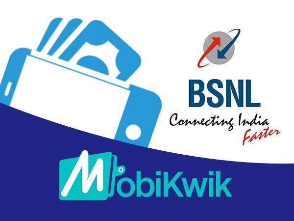 MobiKwik- ന്റെ പങ്കാളിത്തത്തോടെ BSNL മൊബൈൽ വാലറ്റ് ആപ്ലിക്കേഷൻ ആരംഭി