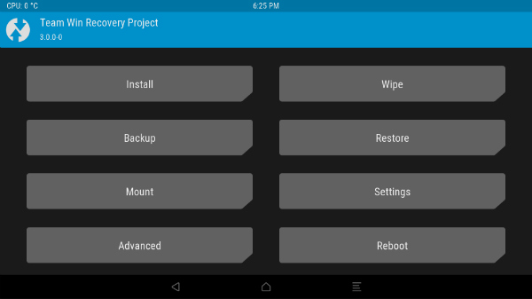 TWRP/CWM Recovery