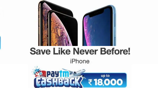 iPhone XR (Rs 4,995 Cash Back)