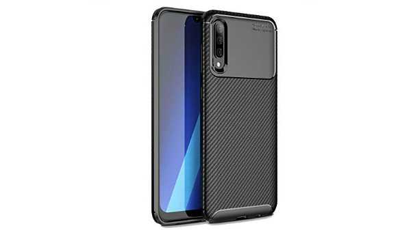 VALUEACTIVE Accessories For All Shockproof Armor Carbon Fibre Textured TPU Back Cover