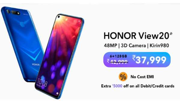12% off on Honor View 20
