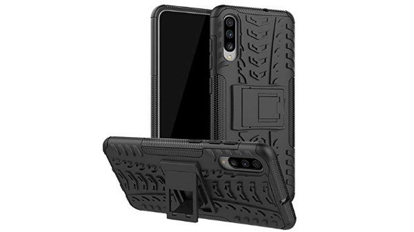 Casodon Back Cover, Real Hybrid Shockproof Bumper Defender Cover