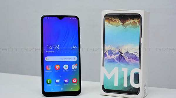 Samsung Galaxy M10 (MRP: Rs 9,290, After Discounts Rs 7,990)
