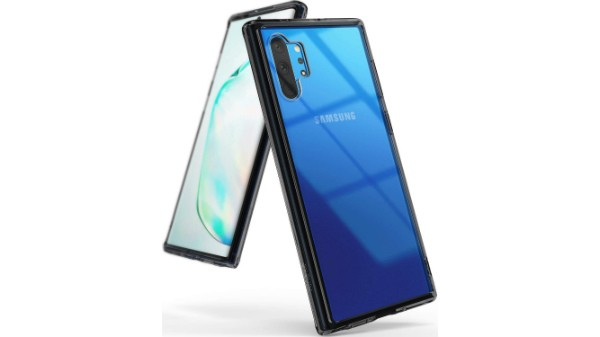 Ringke Fusion-X Designed for Galaxy Note 10 Plus Case, Galaxy Note 10 Plus Cover (2019) - Space Blue