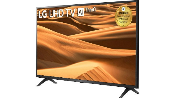 LG All-in-One 126cm (50 inch) Ultra HD (4K) LED Smart TV 2019 Edition