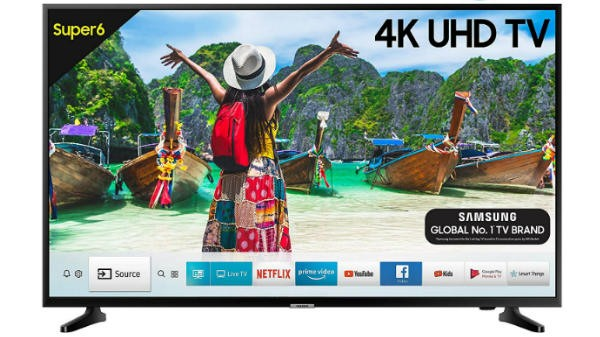 Samsung Super 6 108cm (43 inch) Ultra HD (4K) LED Smart TV