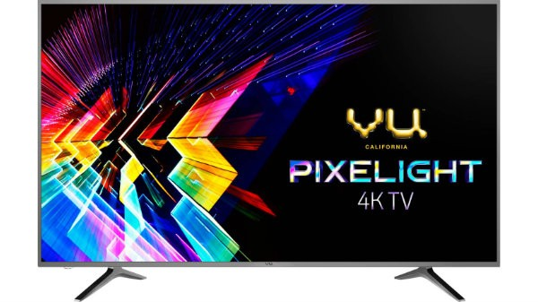 Vu Pixelight 126cm (50 inch) Ultra HD (4K) LED Smart TV with Cricket mode