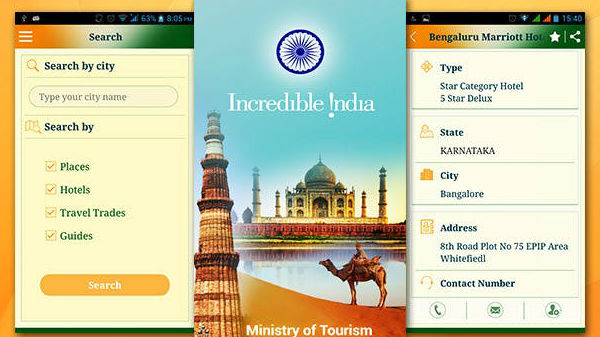 Incredible India app