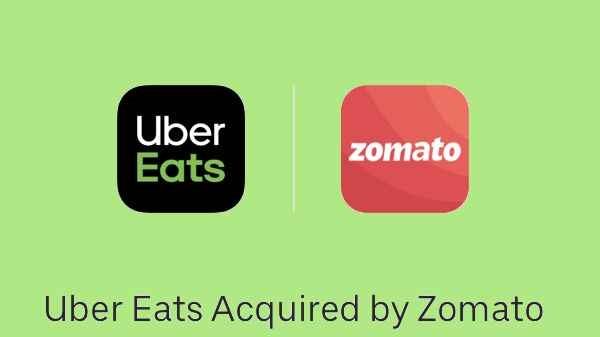 Zomato Acquires Uber Eats: ഇന്ത്യയിലെ ഊബർ ഈറ്റ്സിനെ 2485 കോടി രൂപയ്ക്ക് സ്വന്തമാക്കി സൊമാറ്റോ
