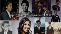 2019ലെ മികച്ച പത്ത് ഇന്ത്യൻ യുവ സംരംഭകർ
