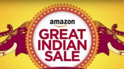 ആമസോൺ ഗ്രേറ്റ് ഇന്ത്യൻ സെയിൽ: ഡീലുകൾ, കിഴിവുകൾ പ്രഖ്യാപിച്ചു